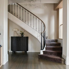 Entry Hall Staircase - Downtown Triplex Apartment