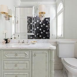 Liberty Hill Victorian Master Bathroom