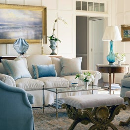 Coastal Living Room Setting