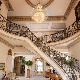 Grand Entry in French-Inspired Chateau