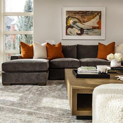 Aspen Core Townhome Living Room Detail
