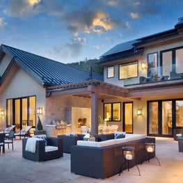 Expansive patio exemplifies outdoor living at its best