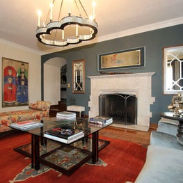 South Orange, NJ Living Room