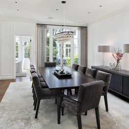 Formal Dining Room in Neoclassical Home