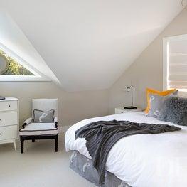 Pool House Loft Bedroom