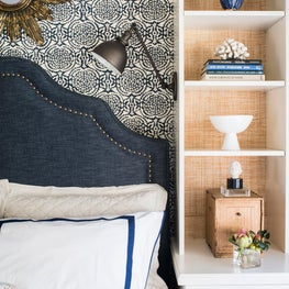 Lakeshore Guest Cottage Bedroom Shelving