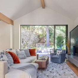 "Living Room, ""Modern in the Redwoods"" Mill Valley, California"