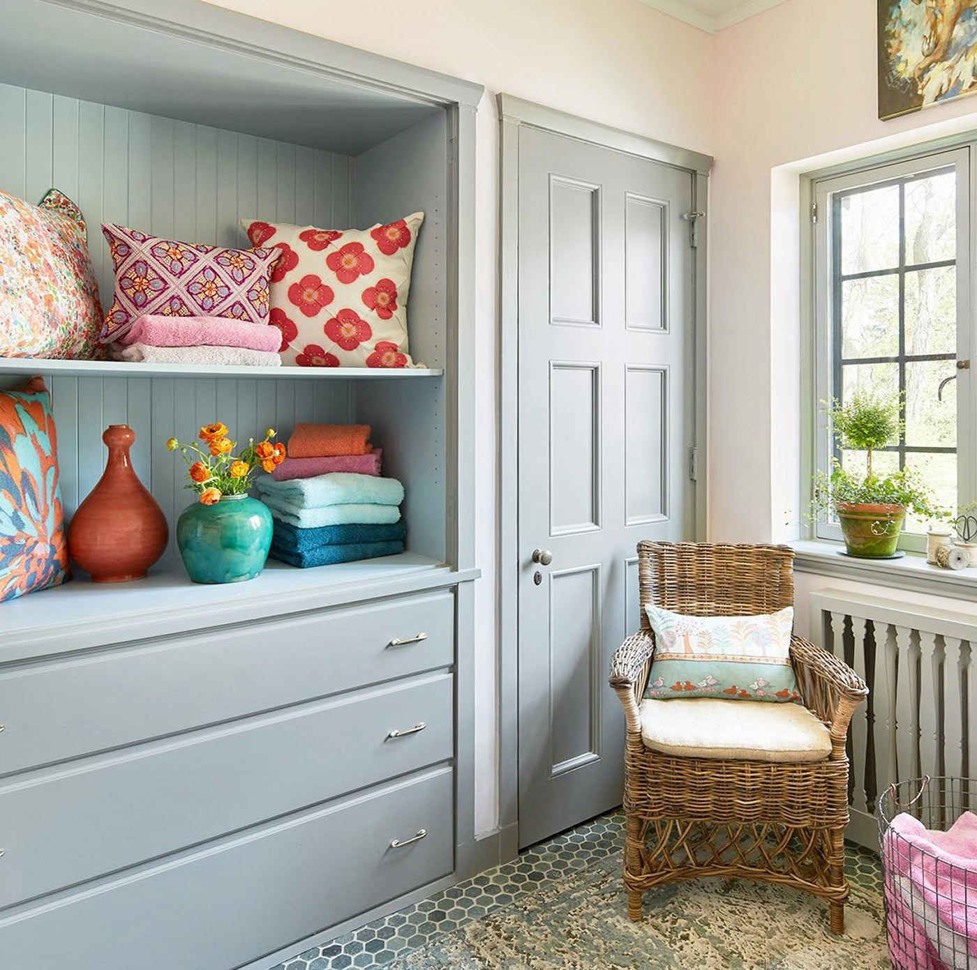 Lake Forest Showhouse 2017 Linen Closet