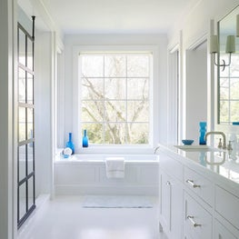Master Bath with Custom Cabinets