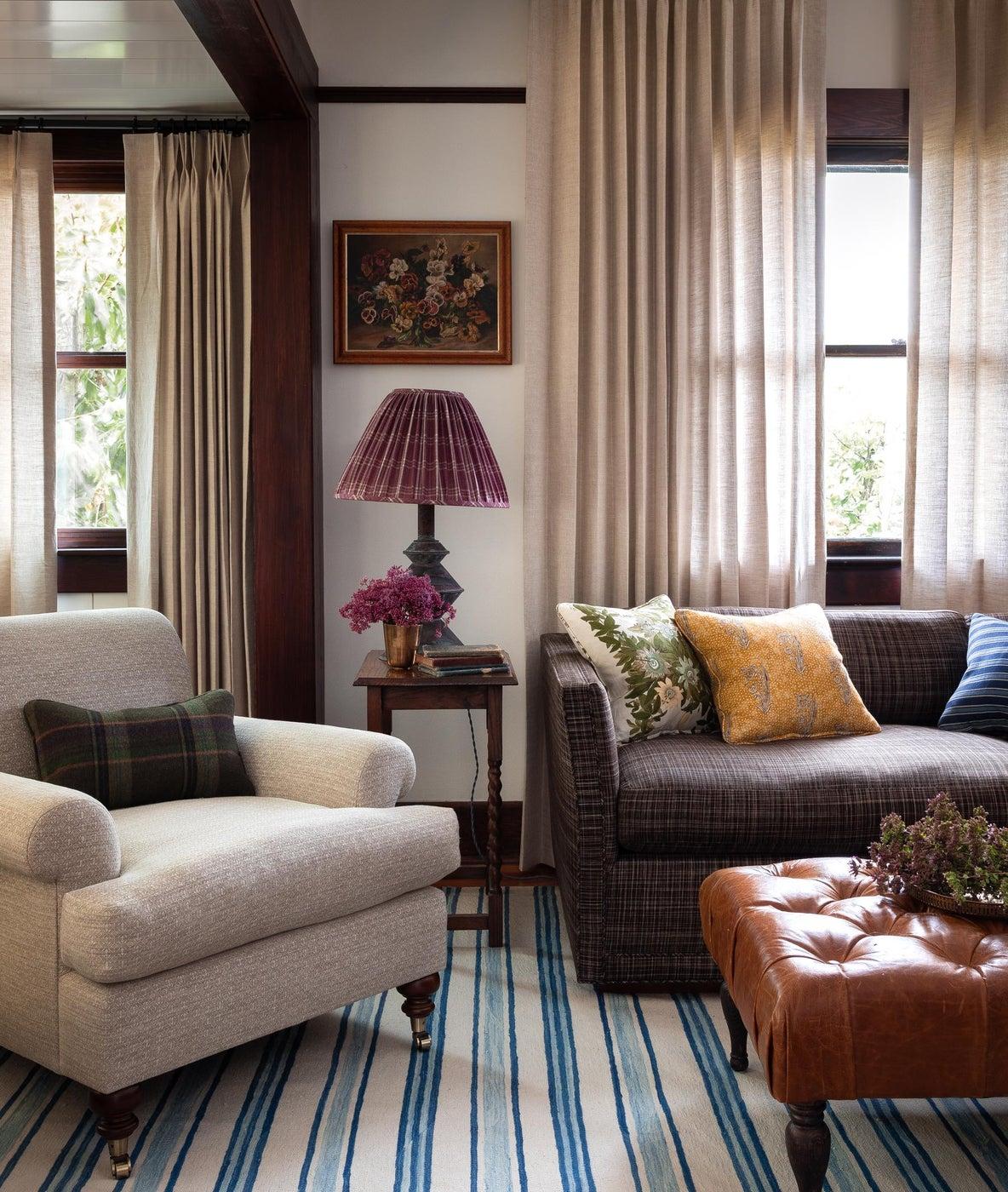 Phinney Ridge Craftsman sitting room