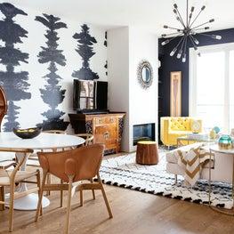Dolores Park Townhouse: Living Room