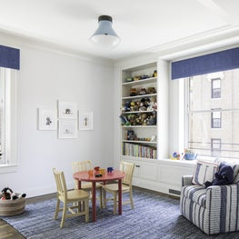 Upper West Side Apartment Kids Bedroom Bookcase