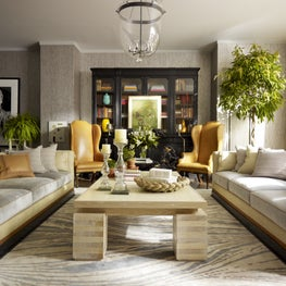 Downtown NYC Residence Living Room