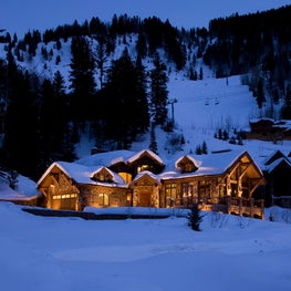Ski-in luxury, Aspen, Colorado