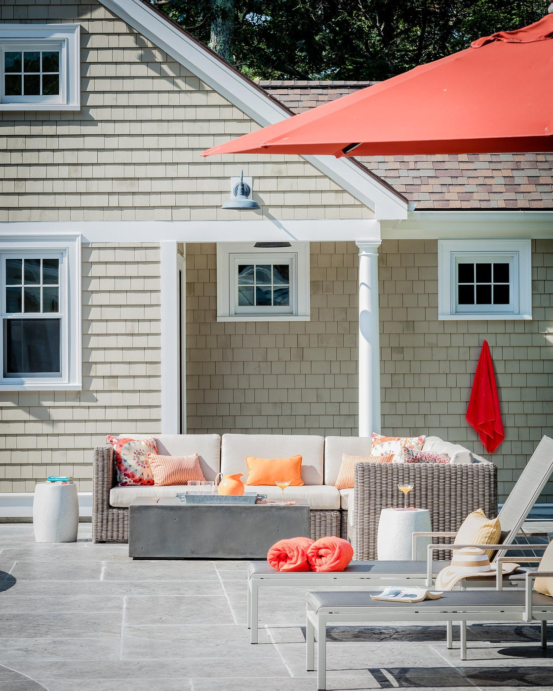 Pool House in Sherborn, MA