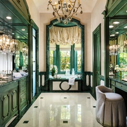 Master Bathroom in Palm Beach Estate
