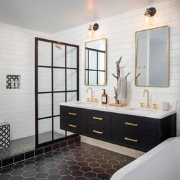 California Modern Master Bathroom