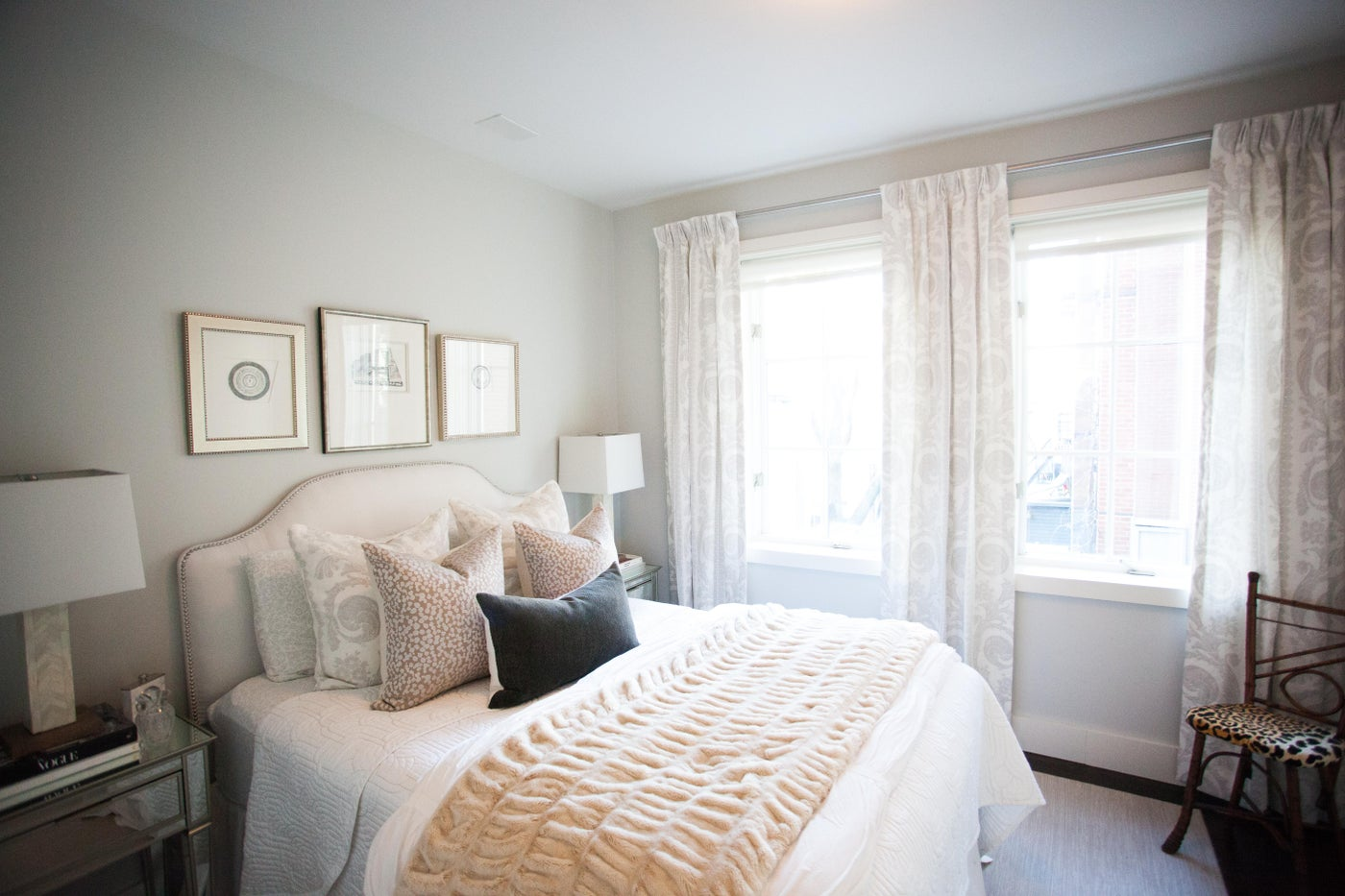 Guest Room in Soft Neutral Tones