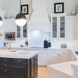 Kitchen Sleek and Crisp with Urban Modern Feel