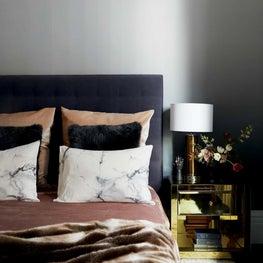 Glam Cozy Bedroom