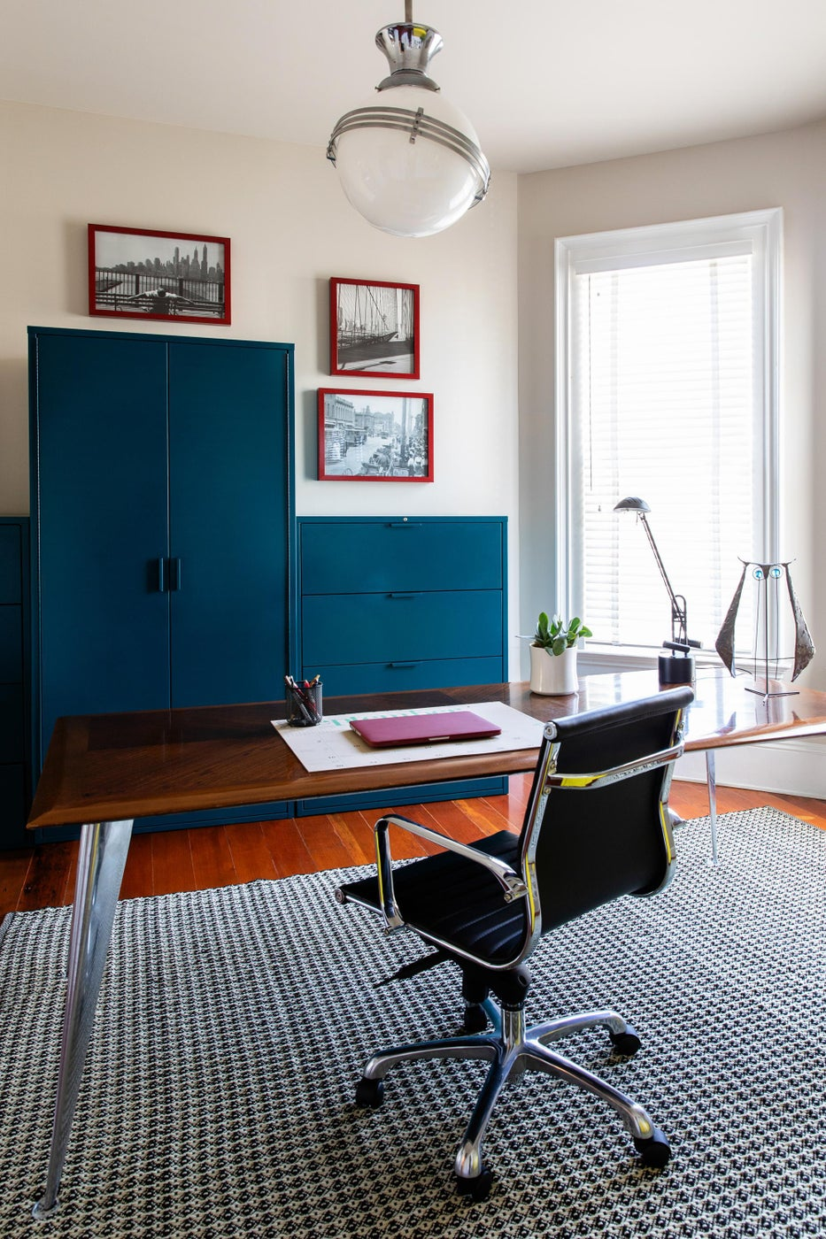 Color-Lover's Collected Home Office