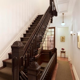 Main staircase for a townhouse renovation in NYC.