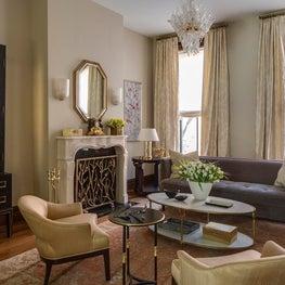 Living Room: Brooklyn Brownstone