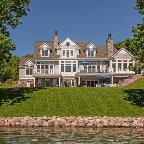 Shingle Style Lake Home