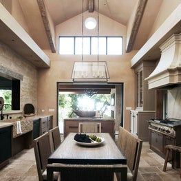 Sonoma Farmhouse renovation took a low ceiling kitchen and added a second story