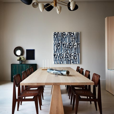 West Village Apartment Dining Room