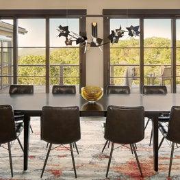 Modern Mountain Dining Room