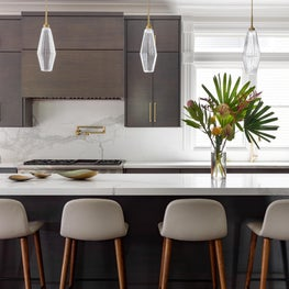 Classic Modern Kitchen with Large Island