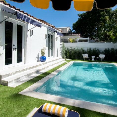 South Beach Backyard Pool