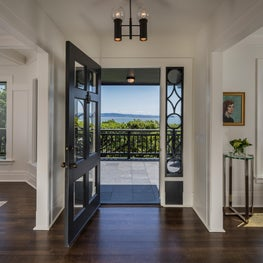 Sausalito, CA - front door and foyer