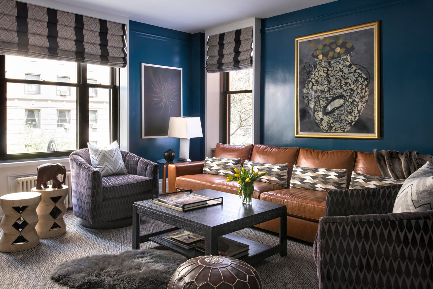 Family Room in Upper Fifth Ave Home