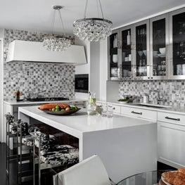 Ritz Carlton Residences, Boston; Custom Kitchen cabinetry