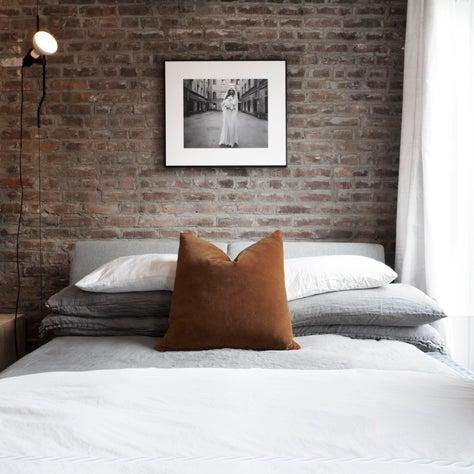 Master bedroom from Clinton Hill renovation