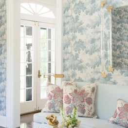 Pastel Palette Farmhouse, Featured in Luxe Magazine / Living Room
