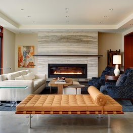 Contemporary Living Room by Hyde Evans Design