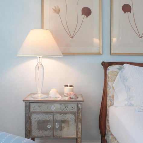 Cape Cod Bedroom with Botanicals