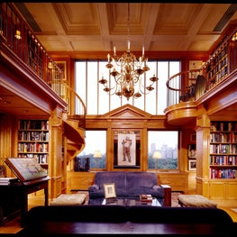 Renaissance-style Library Stair