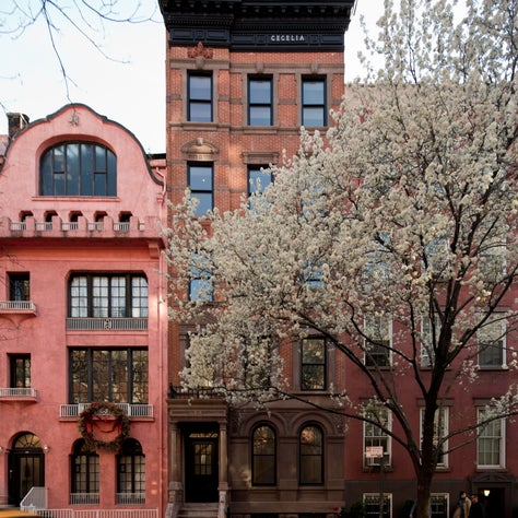 Waverly Place Residence Restored Facade