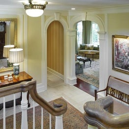 WESTCHESTER RESIDENCE A Traditional Entrance Hall