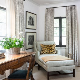 Soothing Master Bedroom Desk and Chaise