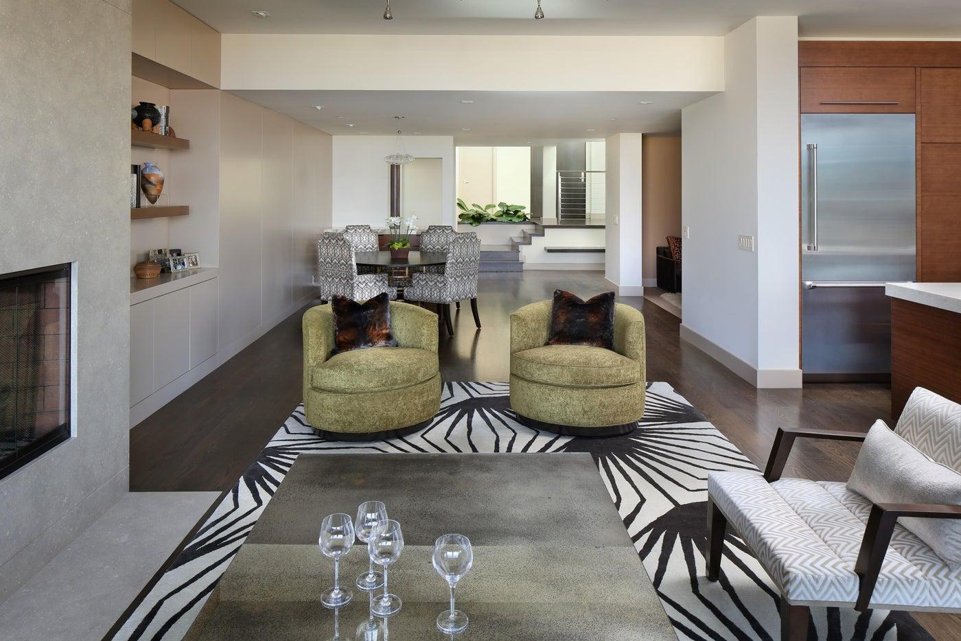 Russian Hill   Living Room