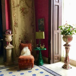 Sala Grande in a Merida Colonial house