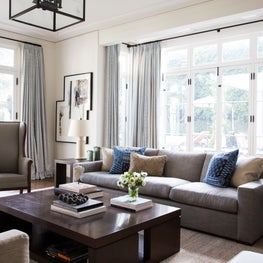 Family Room in Brentwood