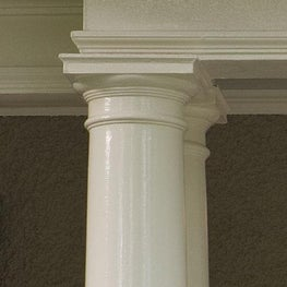 Front Portico Detail