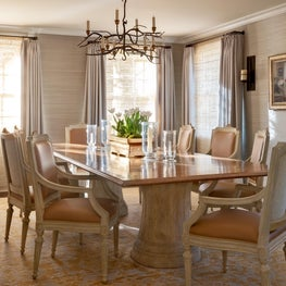 Dining Room in a Bel Air home.