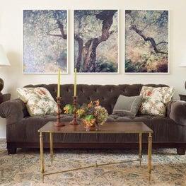 A Connecticut living room.